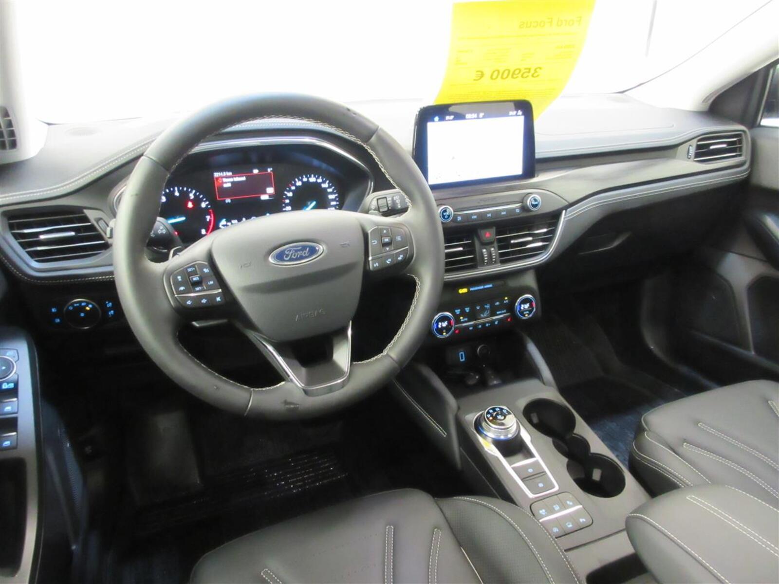 Ford Focus 1,5 EcoBoost 150hv A8 Vignale Wagon. Webasto kauko-ohjaimella. Huippuvarusteet!, vm. 2020, 10 tkm