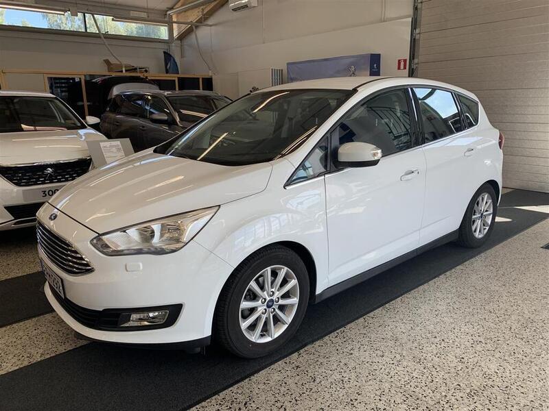 Ford C-Max 1,0 EcoBoost 125 hv start/stop M6 Titanium Compact *** Hurja rah.tarjous ! Korko 1,9% + kulut!, Minimihyvitys 1500€ katsastetusta autosta!, vm. 2018, 17 tkm (1 / 5)