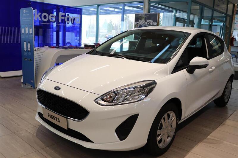 Ford Fiesta 1,0 EcoBoost 95hv M6 Trend 5-ovinen.  Rahoituskorko 0% ilman kuluja, vm. 2021, 0 tkm (1 / 6)